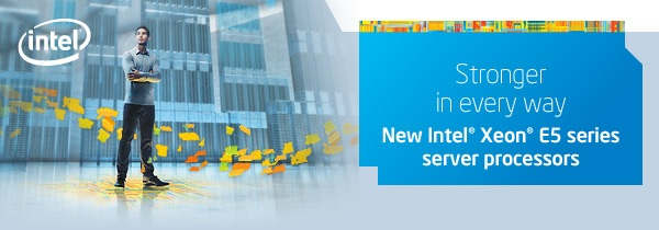 New Intel Xeon E5 series server processors