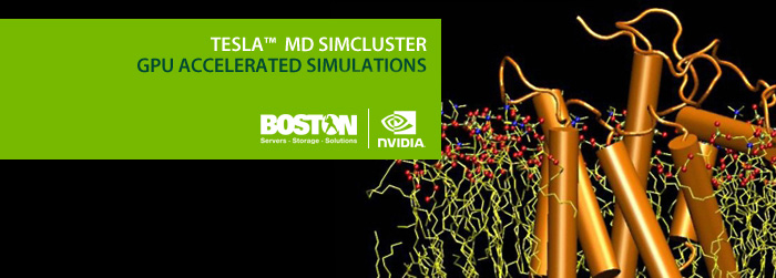 NVIDIA MD Simcluster - GPU Accelerated Simulations