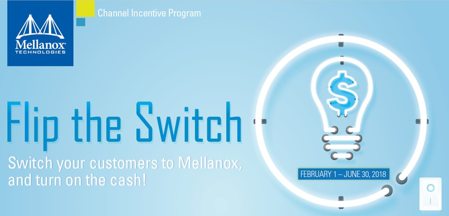 Mellanox Flip the Switch Incentive