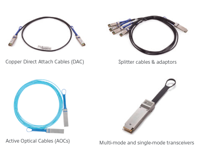 "Mellanox LinkXâ""¢ Cables and Transceivers"