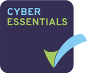 Cyber Essentials Logo with green and blue tick