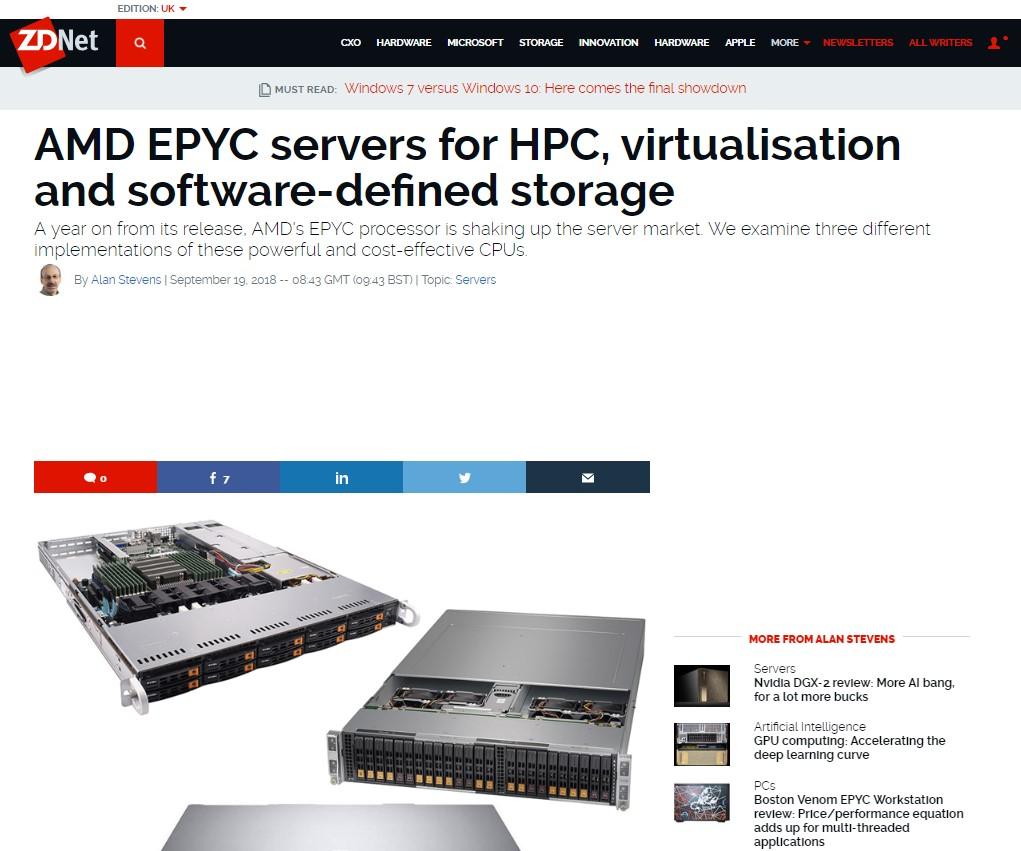 Make Your Server EPYC with AMD