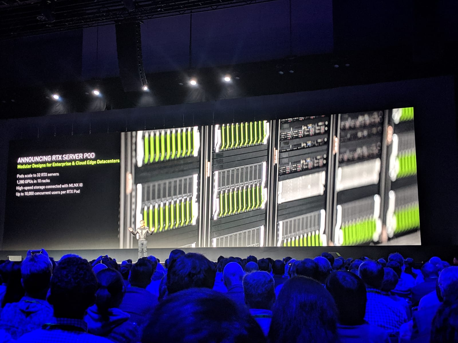 LIVE FROM GTC: NVIDIA Launches RTX Server at GTC 19
