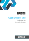 Cost Efficient VDI on Commodity Hardware Whitepaper - Intel Edition (Citrix Partner Huddle, India)