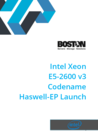 Intel Xeon E5-2600 v3 Codename Haswell-EP Launch