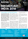 Broadcast India 2018 - Event Wrap Up