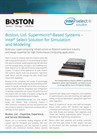 Boston Intel® Select Solution for Simulation and Modeling