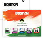 Boston India Brochure Q4 2010 (released at Broadcast India 2010)