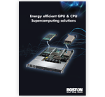 Energy Efficient GPU/CPU Supercomputing solutions (released 2009)