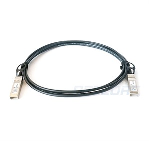 Dell 470-AAVJ Compatible TAA Compliant 10GBase-CU SFP+ Direct Attach Cable (Passive Twinax, 3m)