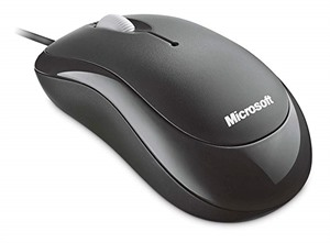 Microsoft Basic Optical Mouse – Black