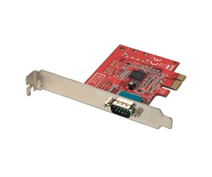 Lindy 1 Port Serial RS-232, 16C650, 128 Byte FIFO Card, PCIe