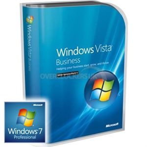 Microsoft Windows Vista Business 32-bit