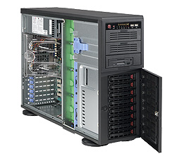 Supermicro SuperWorkstation 7045A-WTB (Black)
