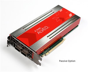 Xilinx U200 Alveo Data Center accelerator card: 18.6 INT8 TOPs, full height, ¾ length, dual slot,