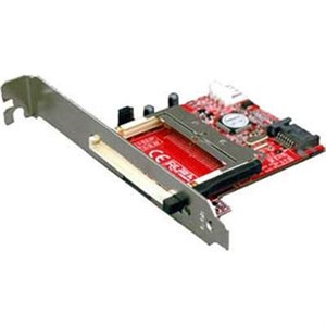 "SATA - CF adapter mounted in 3.5"" drive bay metal frame (black color), 1 full height PCI bracket, 1"