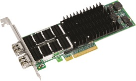 Supermicro Standard Low Profile 2-Port 10Gb Ethernet Controller