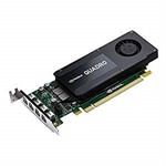 NVIDIA PNY Quadro K1200 4GB GDDR5 PCIe 2.0 - LP & FH Bracket, Active