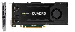 NVIDIA Quadro K4200 (Active Fan) 4GB GDDR5 PCIe 2.0 x16