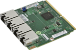 Supermicro SIOM 4-port GbE with 1U bracket, Intel i350-AM4