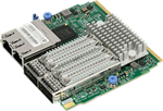 Supermicro SIOM 2-port 56Gbps FDR or 40Gbps Ethernet + Dual Port 1GbE