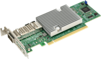 Standard LP Adapter Card based on Broadcom BCM57454 chip
