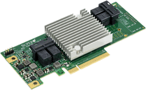 12Gb/s Sixteen-Port SAS/SATA Internal Host Bus Adapter