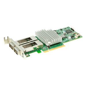 Supermicro AOC-S40G-i2Q: Standard LP 40GbE with 2 QSFP ports, Intel XL710