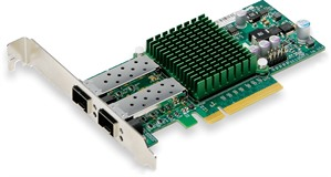 Supermicro 2-port SFP+ 10GbE 10GbE LP NIC Card