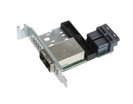 Supermicro Low Profile 16-port Mini SAS HD Int-to-Ext cable adapter w/ FH brack