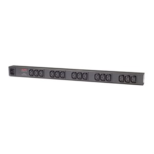 APC Basic Rack PDU AP9572 power distribution unit [PDU] 0U Black 15 AC outlet[s]