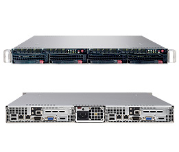 Supermicro A+ Server 1021TM-T+B (Black)