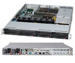 Supermicro A+ Server 1022G-URF-B (Black)