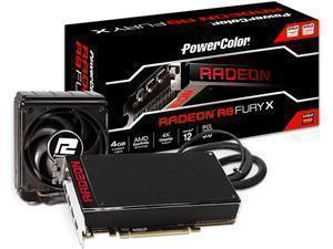 PowerColor R9 FURY X 4GB HBM HDMI 3x DisplayPorts PCI-E Graphics Card