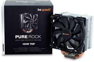 be quiet BK009 Pure Rock Compact Intel/AMD CPU Air Cooler