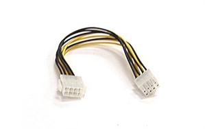 Supermicro 12V 8-pin to 8-pin Power Connector Extension Cable
