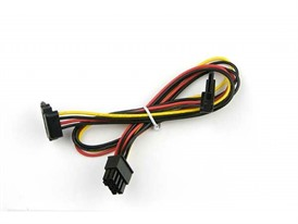 Supermicro 2 SATA Power Cable from 8 pin power connector HF