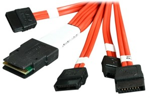 3Ware 0.6M Multi-lane internal cable