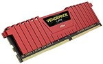 16GB (4x4GB) Corsair DDR4 Vengeance LPX Red, PC4-25600 (3200), Non-ECC Unbuffered,