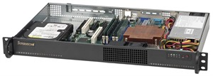 Supermicro SuperChassis 510-200B (Black)