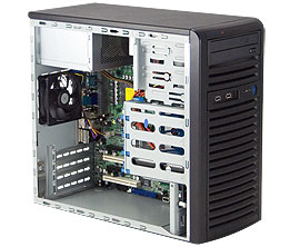 Supermicro SuperChassis 731I-300B (Black)