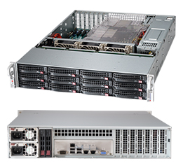 Supermicro SuperChassis 826BE16-R920LPB (Black)