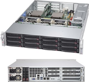 Supermicro SuperChassis 826BE1C-R920WB