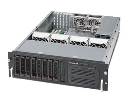 Supermicro SuperChassis 833T-653B (Black)