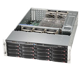 Supermicro SuperChassis 836BE16-R920B (Black)