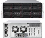 Supermicro SuperChassis 846BE16-R1K28B (Black)