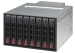 "Supermicro 8-Bay 2.5"" SAS/SATA Mobile Rack (Black)"