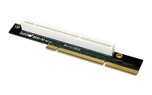 Supermicro 1U PCI-X Passive Left Slot Riser Card