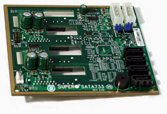 Supermicro SC733T SATA Backplane