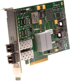 ATTO Technology Celerity FC-42ES Dual-Channel 4Gb/s Fibre Channel PCIe Host Adapter